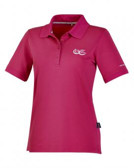 Polo Active 4.0 Pique - Damen - PINK RIBBON-Edition - Koralle | 40/L